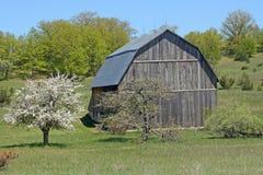Landlandschaft im Frühjahr lizenzfreies stockfoto