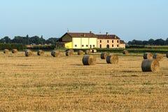Landlandschaft nahe Ferrara (Italien) stockfoto