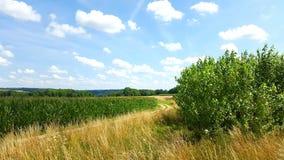 Landleben in Pic van Franken Natur Royalty-vrije Stock Fotografie