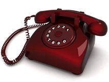 Landline phone Stock Photo