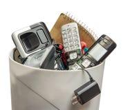 Landline Telefoons in het Afval royalty-vrije stock foto's