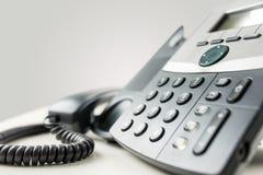 Landlinetelefoninstrument Arkivfoto