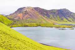 landmannalaugar的冰岛 免版税库存照片