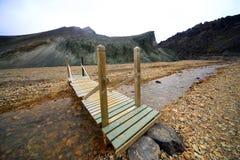 Landmannalaugar, ландшафт im гористые местности Исландии, Европы Стоковые Изображения RF