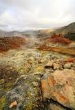 Landmannalaugar, гористые местности, Исландия, Европа Стоковое Изображение RF
