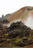 Landmannalaugar, Исландия, Европа Стоковая Фотография
