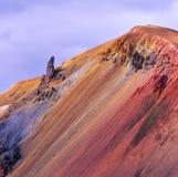 landmannalaugar ландшафт стоковые фото