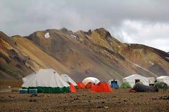 Landmannalaugar 冰岛 免版税库存照片