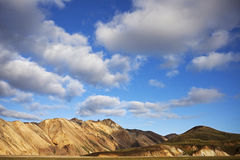 Landmannalaugar. Is a region near the volcano Hekla in the southern section of Iceland's highlands. The area is a popular tourist destination and hiking hub Stock Photography