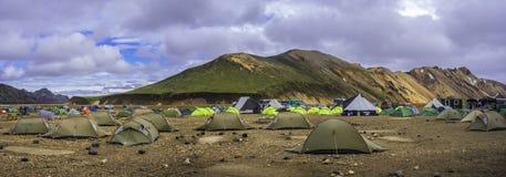 Landmannalaugar στοκ φωτογραφία με δικαίωμα ελεύθερης χρήσης