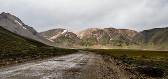 Landmannalaugar Στοκ φωτογραφίες με δικαίωμα ελεύθερης χρήσης