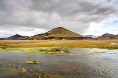 Landmannalaugar area, South Iceland Stock Photography