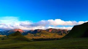 Landmannalaugar barwił góry, wielka dolinna wewnętrzna część wyspa, Iceland fotografia royalty free