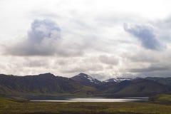 Landmannalaugar-Bereichslandschaft, Fjallabak-Naturreservat, Island lizenzfreie stockfotos