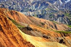 Landmannalaugar colorful mountains landscape, Icel Stock Photo