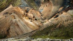 Landmannalaugar - erstaunliche Landschaft in Island Lizenzfreie Stockfotos