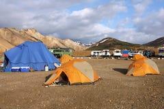 landmannalaugar iceland royaltyfria bilder