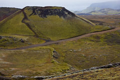 Landmannalaugar, Iceland Stock Image