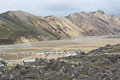 Landmannalaugar (Iceland) Stock Photo