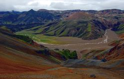 Landmannalaugar, Iceland. Stock Photos