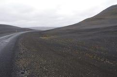 landmannalaugar Iceland droga Obrazy Royalty Free