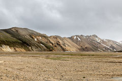 Landmannalaugar  in Iceland Royalty Free Stock Photography