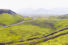 Landmannalaugar, Iceland Royalty Free Stock Photography