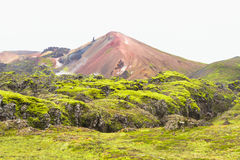 Landmannalaugar, Iceland. Landmannalaugar, a popular destination for tourists traveling in Iceland Stock Images