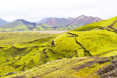 Landmannalaugar, Iceland Stock Photos