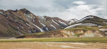 Landmannalaugar, Iceland Royalty Free Stock Images
