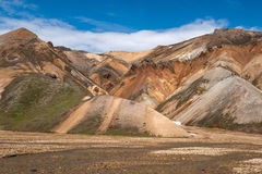 Landmannalaugar , Iceland Royalty Free Stock Photography