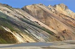 Landmannalaugar, Islândia imagem de stock royalty free