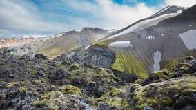 Landmannalaugar, Islândia imagem de stock