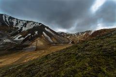 Landmannalaugar, Islândia Fotografia de Stock