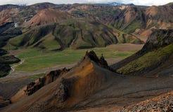 Landmannalaugar, Island. Lizenzfreie Stockbilder