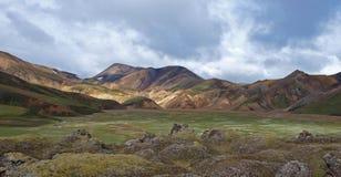 Landmannalaugar, Islanda Fotografia Stock Libera da Diritti