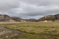 Landmannalaugar in Islanda Fotografia Stock Libera da Diritti