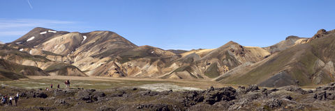 Landmannalaugar, Islande Photos stock