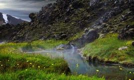 Landmannalaugar islandia Foto de archivo