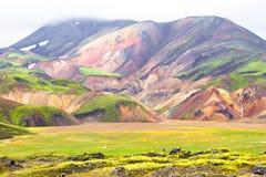 Landmannalaugar, Islandia Foto de archivo