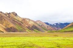 Landmannalaugar, Islandia Fotografía de archivo