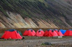 Landmannalaugar islândia Imagens de Stock
