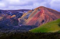 landmannalaugar krajobrazu Obrazy Royalty Free