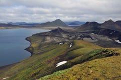 Landmannalaugar krajowa góra w Iceland Obraz Royalty Free
