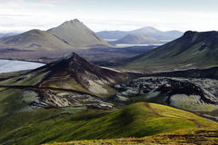 Landmannalaugar - l'Islande Photographie stock