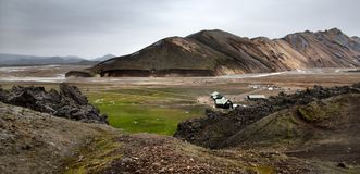 Landmannalaugar landscape Royalty Free Stock Photography