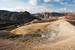 Landmannalaugar mountains, Iceland Royalty Free Stock Photo