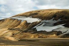 Landmannalaugar mountains, Iceland. Southern Europe royalty free stock photography