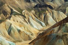 Landmannalaugar mountains, Iceland. Southern Europe stock image