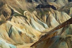 Landmannalaugar mountains, Iceland Stock Image